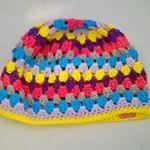 Muts is af! #heerlijkezondagsactiviteit #kindermutsje #gehaaktemuts #kleurrijkemuts #haakproject #crochet #childhat #sunday #accessoire #Good2get