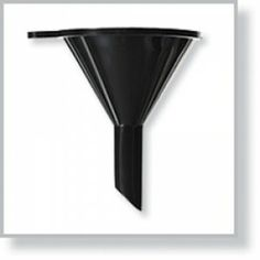 Small Black Funnel | All Cosmetics Wholesale