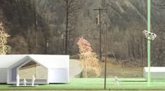W.a.w.t.b. : HANSEL & HANSEL | architecture agency Twin Peaks, Diorama, Shed, Outdoor Structures, Architecture, Plants, Arquitetura, Dioramas, Plant