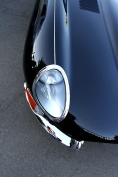 Jaguar E-Type eye