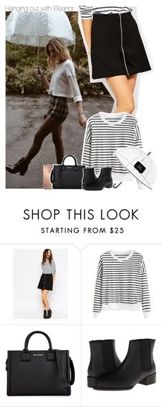 """""""Hanging out with Eleanor"""" by xcuteniallx ❤ liked on Polyvore featuring ASOS, Mura, Karl Lagerfeld, Vince and Kate Spade"""