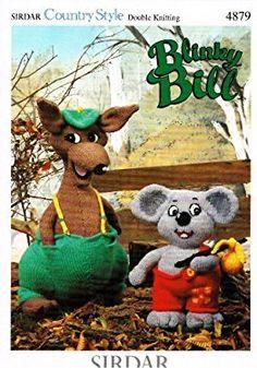 Sirdar Blinky Bill and Splodge Toys, Knitting Pattern 5264: Amazon.co.uk: Sirdar: Books