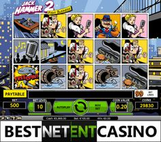 Play for free the Jack Hammer video slot by Netent
