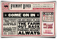 The Fremont Diner - 2660 Fremont Dr  Sonoma, CA 95476  (707) 938-7370  http://www.thefremontdiner.com