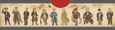 This is an interesting style. I wouldn't be surprised if the Doctor actually turned up in ancient Japanese art! XD