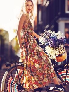 boho fashions for women photos   Floral Boho Dresses for Women