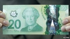 'Wrong' maple leaf on Canadian banknotes