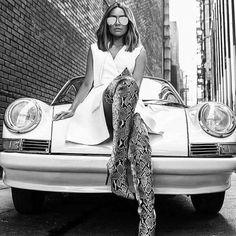 Porsche Classic, Classic Cars, Audi Quattro, Ferrari, Car Poses, Chicks On Bikes, Porsche Cars, Rockabilly Fashion, Car Girls