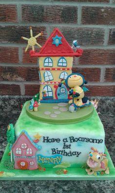 Henry Hugglemonster - Cake by Karen Flude