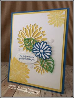 Stampin' Up Special Reason created by Cindy Brumbaugh of CindyLeeBeeDesigns.com