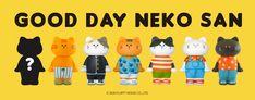 Vinyl Toys, Designer Toys, Good Day, Neko, Blinds, Pattern, House, Character, Buen Dia