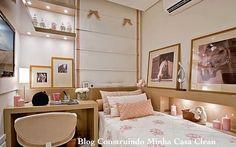 Lá no sitehttp://www.construindominhacasaclean.com/ Tem várias ideias maravilhosas para quartos de crianças.