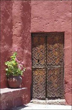 Cool Doors, Unique Doors, Knobs And Knockers, Door Knobs, When One Door Closes, Door Gate, Marsala, Closed Doors, Doorway