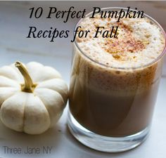 10 Perfect Pumpkin Recipes for Fall. There is a recipe for roasted pumpkin seeds