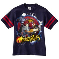"Hybrid Apparel ""ThunderCats"" 2011 graphic t-shirt (custom sized)"
