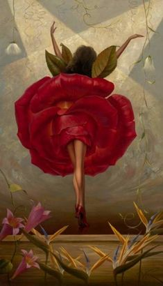 Vladimir Kush | hmm using properties of nature to form a man-made object...