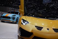 Pictures of the cars on the Hamann stand during the 2015 Geneva Car Show.