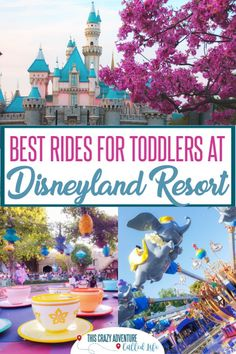 Planning Disneyland with toddlers can be a bit overwhelming. Here is insider tips and knowledge about the best rides for toddlers at Disneyland. Even a few hacks on skipping the lines. There are plenty of things to do with young children at the parks. Disneyland Paris, Disneyland Secrets, Disneyland Vacation, Disney Vacation Planning, Disneyland California, Disney World Planning, Disney California Adventure, Disney Vacations, Disneyland Birthday