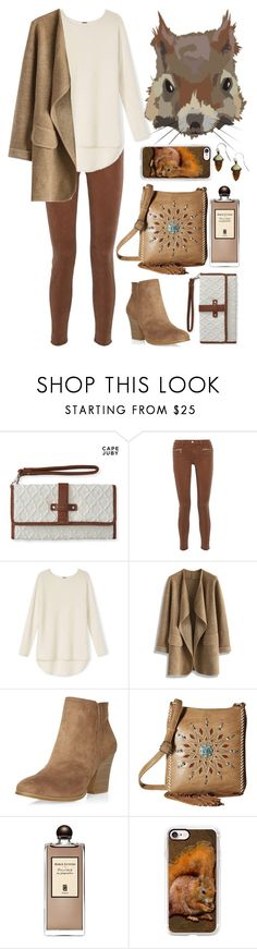 """""""Spirit Animals (Squirrel)"""" by ubiquitous-merkaba ❤ liked on Polyvore featuring Aéropostale, J Brand, Chicwish, Dorothy Perkins, M&F Western, Serge Lutens, Casetify and sososspirits"""