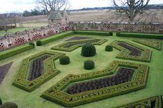 Edzell Castle, geometría verde escocesa. | Matemolivares
