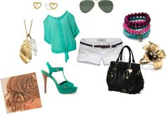 """a passion for teal"" by annmrack on Polyvore"