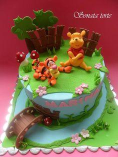 Winnie the Pooh Cake | Sonata Torte