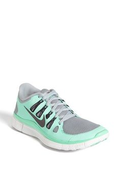Nike 'Free 5.0' Running Shoe in Mint