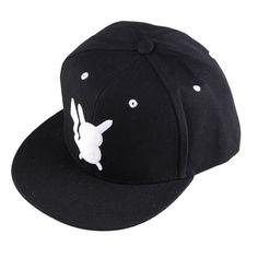 4284df369f0 1PC Fashion Adjustable Unisex Women Men Cartoon Pokemon Pikachu Snapback Hip  Hop Baseball Cap Hats