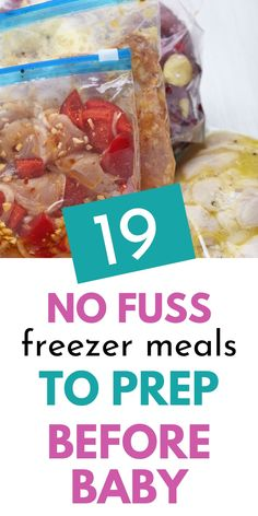Freezable Meals, Healthy Freezer Meals, Make Ahead Meals, Freezer Cooking, Easy Meals, Inexpensive Meals, Frugal Meals, Freezer Meal Recipes, Paleo Frozen Meals