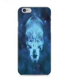 Blue Skull Alien Theme 3D Iphone Case for Iphone 3G/4/4g/4s/5/5s/6/6s/6s Plus - ALN0062 - FavCases