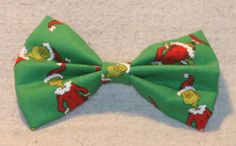 How The Grinch Stole Christmas Holliday Hair Bow by TheRubyPigdotcom on Etsy