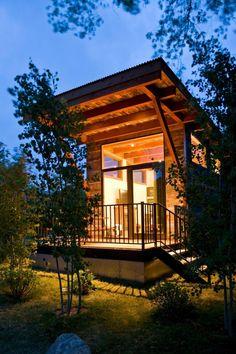 Weekend Cabin: Wilson, Wyoming
