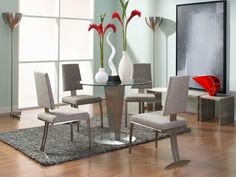 Rent the Julia Dining Table with Tania Chairs