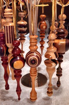 ONE WEEK ONLY  5 Handmade Wood Turned Christmas by JASONPRIGMORE, $99.00