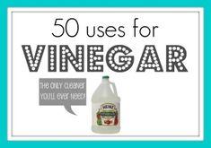 50 uses for vinegar…who knew?