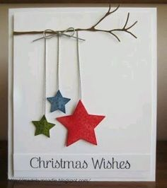 Take your creative skills to the next level with these unique homemade Christmas cards.See more ideas about DIY Christmas Cards Quick And Easy To Make . holiday DIY Christmas Cards Quick And Easy To Make Christmas Card Crafts, Homemade Christmas Cards, Christmas Wishes, Homemade Cards, Holiday Crafts, Christmas Decorations, Christmas Ornaments, Christmas Stars, Christmas Movies
