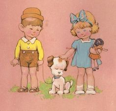 Resultado de imagem para Vintage Dean & Son Press-Out Paper Doll Story Book Series