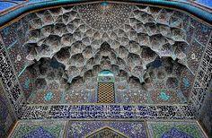 mooie moskee plafond