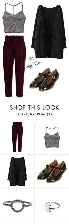 """""""Art Kid"""" by rebellious-ingenue ❤ liked on Polyvore featuring Philosophy di Lorenzo Serafini, Abercrombie & Fitch, Topshop, Maria Black and Holly Ryan"""