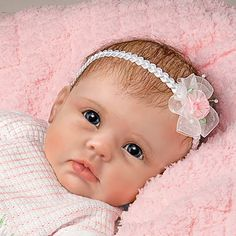 """Baby Dolls That Look Real   So Truly Real """"Olivia's Gentle Touch"""" Lifelike Baby Girl Doll By Linda ..."""