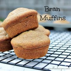 Spindles Designs by Mary & Mags: Bran Muffins