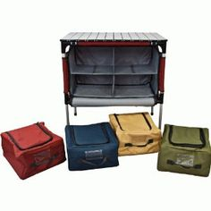 Love this, Camp Chef Sherpa Camp Table and Organizer $91.77