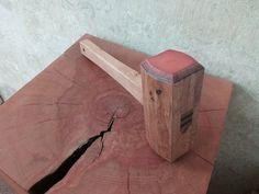 Oak lead filled mallet