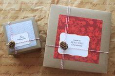 DIY Holiday Gift Box