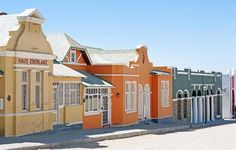 German colonial architecture in Luderitz, Namibia German Pop, Colonial Architecture, West Africa, Luxury Travel, Empire, Fair Grounds, Universe, Animation, Adventure
