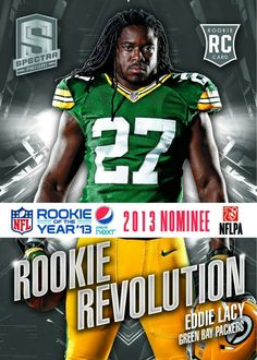 Eddie Lacy... LOVE THIS GUY!!! :) GREAT ADDITION TO GREEN BAY!!!!!!!!