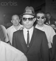 Profaci Family Wiseguy - Larry Gallo at Brooklyn Federal Court on Aug - 22 - 1963 Real Gangster, Mafia Gangster, Italian Mobsters, Colombo Crime Family, Sleep With The Fishes, Mafia Crime, The Big Boss, Al Capone, The Way I Feel