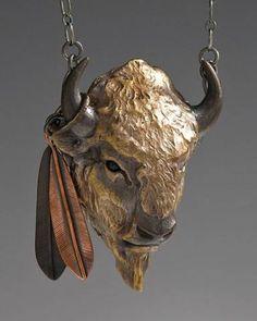 Fabulous Bison Necklace!