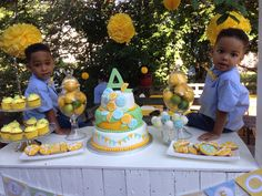 Lemonade stand birthday party