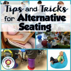 Create-Abilities: Alternative Seating in the Classroom - something to think about